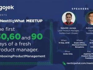 NextBigWhat Meetups on Product Management
