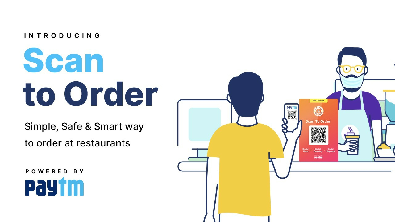 Paytm Scan to Order