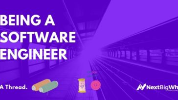 Being a software Engineer