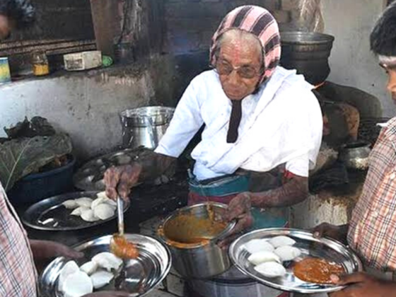 Tamil Nadu's Idli Amma To Get A House From Anand Mahindra!